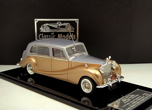 1/43 Rolls Royce Phantom IV,Chassis 4CS4