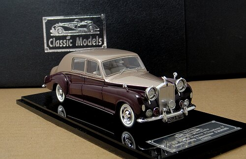 1/43 Rolls Royce Phantom V 1965 James Young Chassis 5LVD29