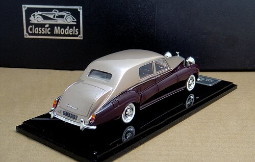 1/43 Rolls Royce Phantom V 1965 James Young Chassis 5LVD29 - Click Image to Close