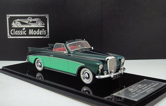 1/43 Bentley SI Riviera Honeymoon Express 1958
