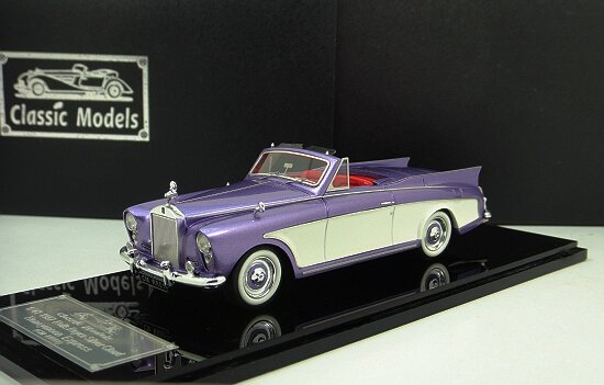 1/43 Rolls-Royce Silver Cloud Honeymoon Express 1957