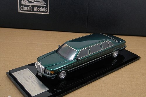 1/43 Mercedes-Benz W126 Series 500SEL 6-door Stretch Limousine ,