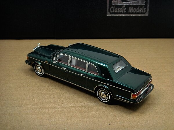 1/43 Rolls-Royce Silver Spur II Touring Limousine,Green