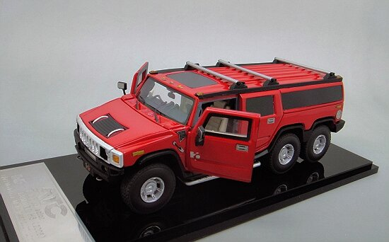 1/43 HUMMER H6 Limousin , Red