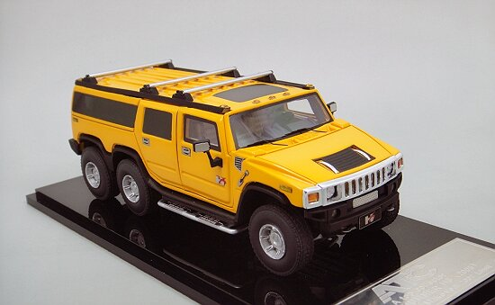 1/43 HUMMER H6 Limousin , Yellow