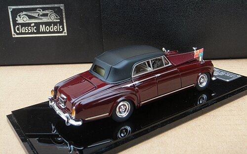 1/43 Rolls-Royce Silver Cloud III Chlssis: CAL37/39(Close)