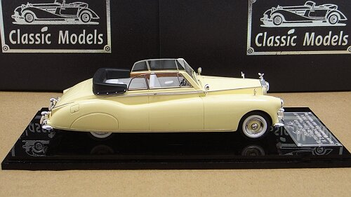 1/43 Rolls-Royce 1951 Phantom IV,Chassis 4AF6 Cream-colore open