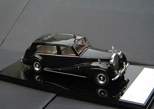 1/43 Rolls-Royce 1954 Phantom IV, Chassis 4BP7