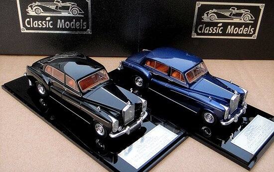 1/43 Rolls-Royce Phantom V Chapron Limousine 1961 Chassis 5LAT50