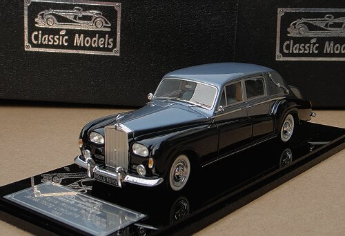 1/43 Rolls-Royce Phantom V 1963 James Young Limousine Chassis :