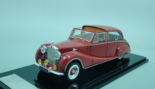 1/43 Rolls-Royce Phantom IV 1952 Chassis 4AF20 Red Open